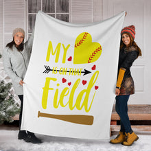 Load image into Gallery viewer, [EXCLUSIVE] SOFTBALL BLANKET