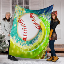 Load image into Gallery viewer, Baseball Blanket