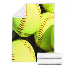 Load image into Gallery viewer, Softball Lovers blanket