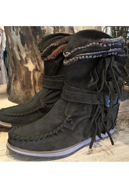 Tassels West Boots