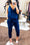 Pockets Drawstring Slip Jumpsuit