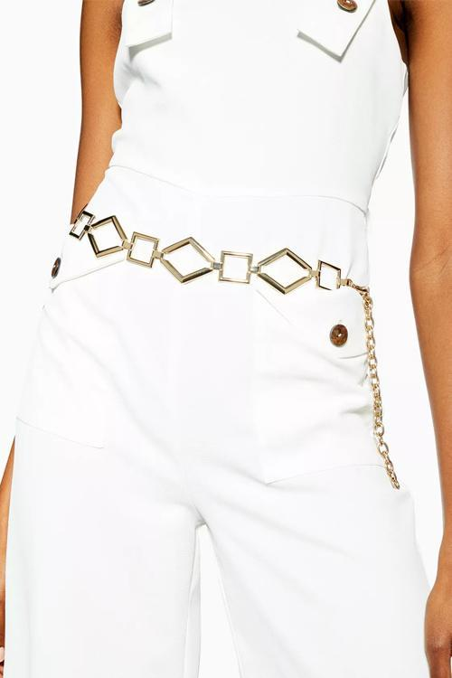 Geometrical Link Chain Belt