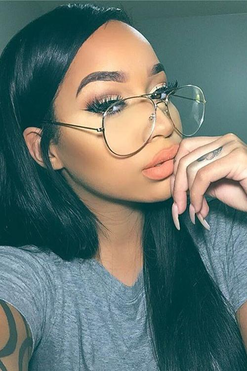 Dollger Classic Clear Glasses