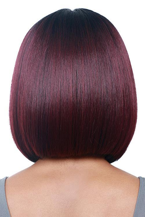 Benegem Red Straight Bob Wigs