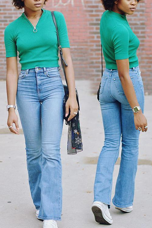 Retro Bell Jeans