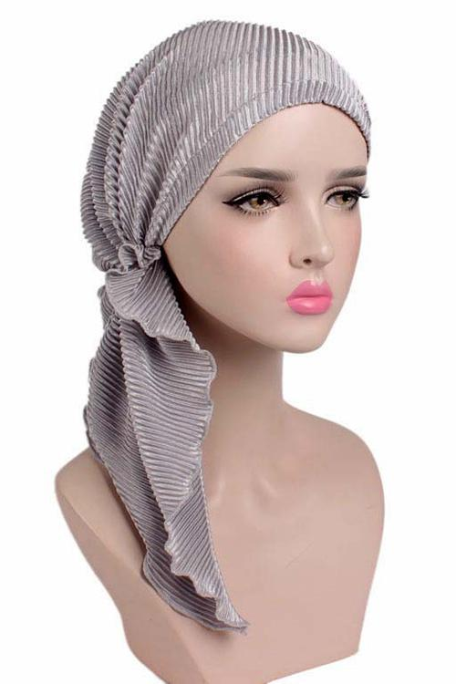 Pleated Hair Wrap