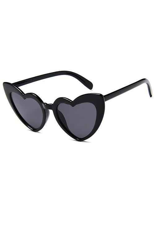 Heart-shaped Design Sunglasses