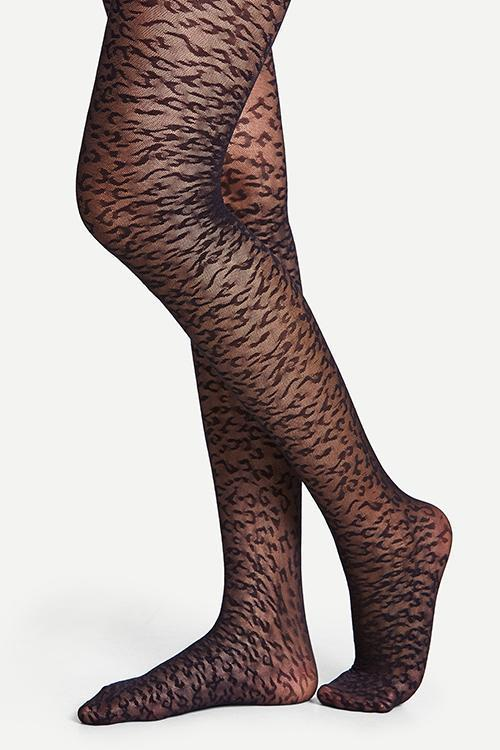 Leopard Pattern Tights