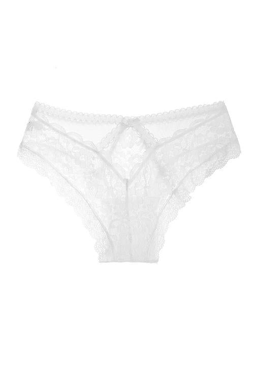Bow Lace Hollow Thong