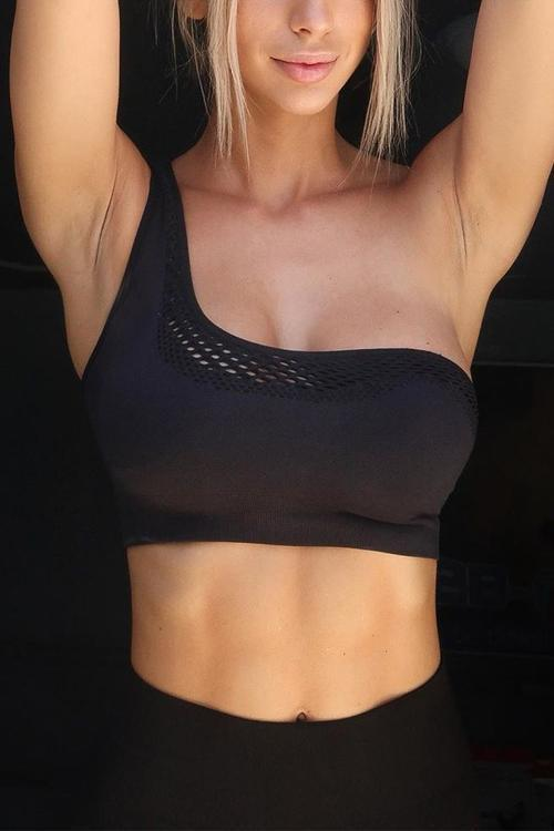 Mesh Removable Strap Bra
