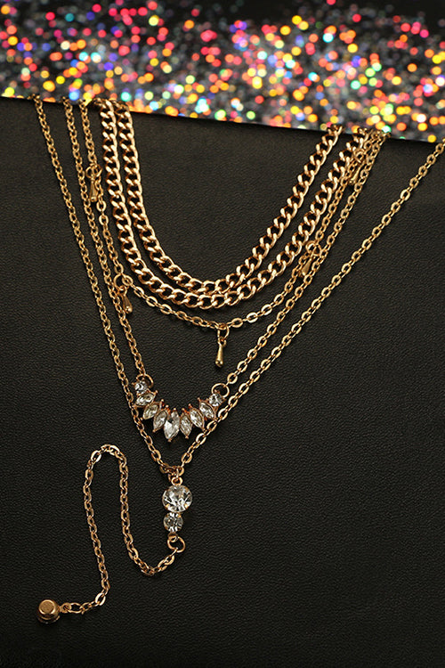 Layer Sparkly Necklace