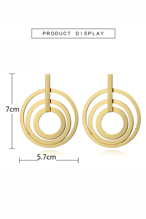 Geometry Layers Earrings