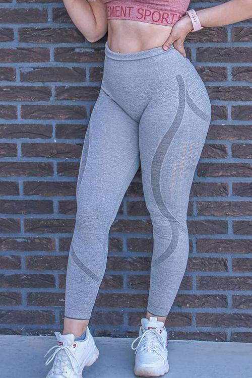 Mesh Seamless Yoga Leggings