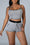 Decorative Edge Slip Drawstring Top & Shorts