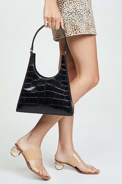 Alligator Saddle Shoulder Bags