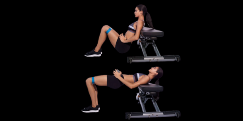 Hip thrust posture to energize your butt