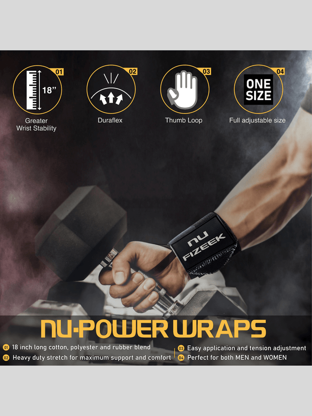 NU POWER WRAPS NU FIZEEK ONE SIZE