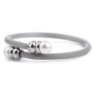 Forever Simplicity Mesh Bangle S12