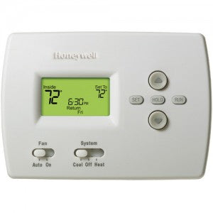 Honeywell Programmable Thermostat PRO 4000 - TH4210D1005. Multi-Stage, Heat Pump