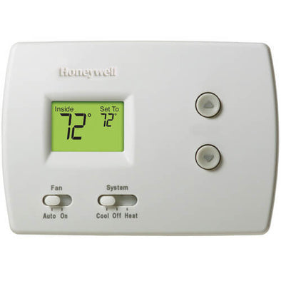 Thermostat Honeywell Pro 3000 - TH3210D1004 Non-Programmable - Heat Pump