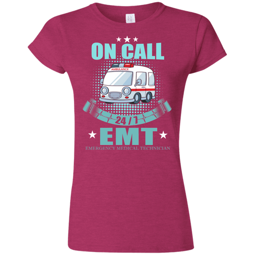 EMT G640L Gildan Softstyle Ladies' T-Shirt AH142