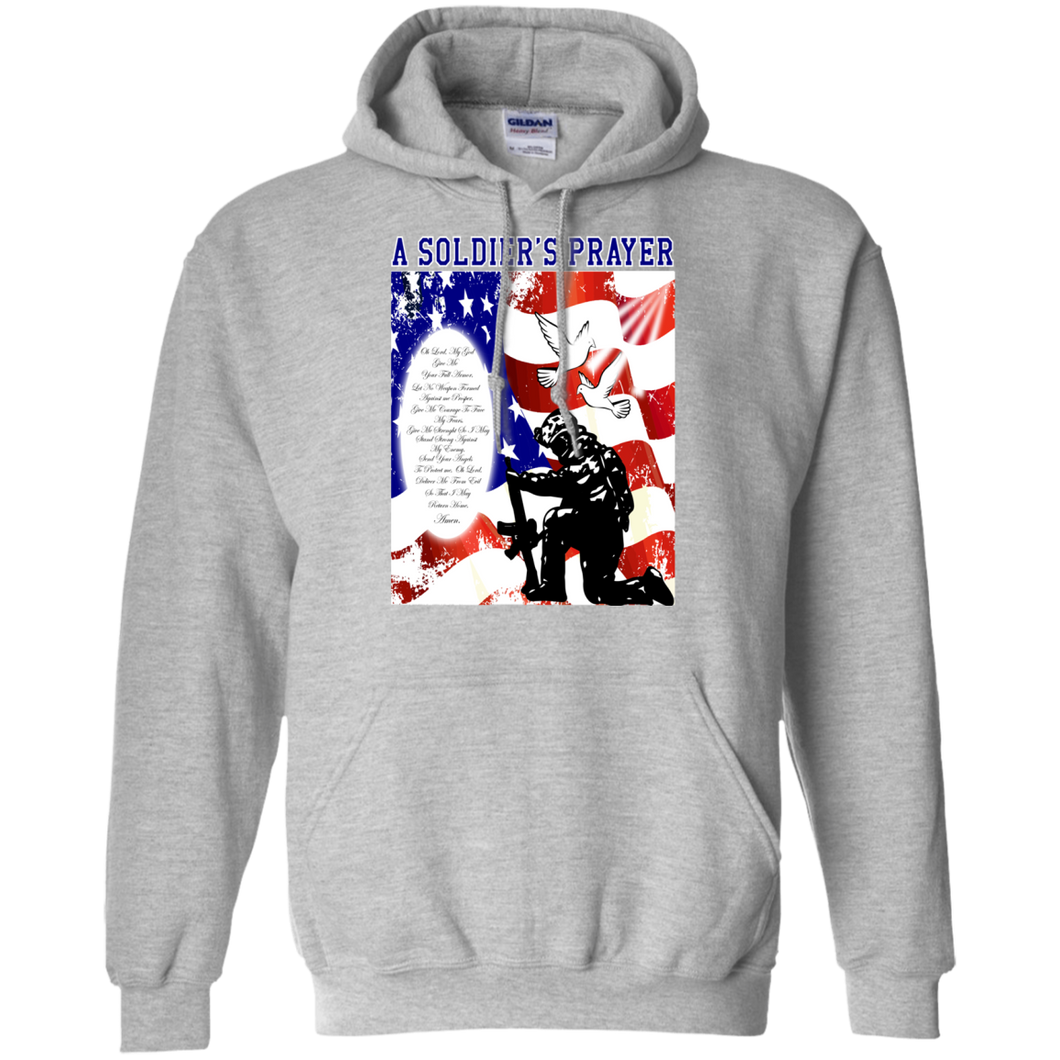 US Military G185 Gildan Pullover Hoodie 8 oz. AM001