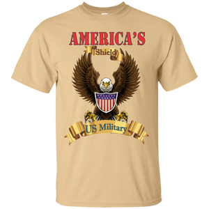 US Military G200 Gildan Ultra Cotton T-Shirt AM016