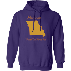 G185 Pullover Hoodie 8 oz. State 025