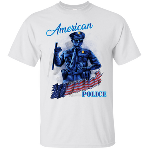 Police G200 Gildan Ultra Cotton T-Shirt  AH157