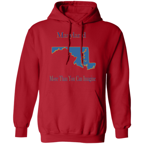 G185 Pullover Hoodie 8 oz. State 020