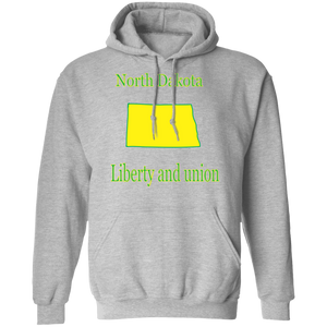 G185 Pullover Hoodie 8 oz. State 034