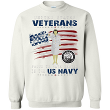 Navy G180 Gildan Crewneck Pullover Sweatshirt  8 oz.AM056