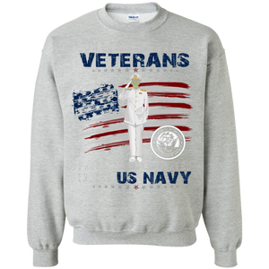 Navy  G180 Gildan Crewneck Pullover Sweatshirt  8 oz .AM055