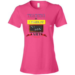 880 Anvil Ladies' Lightweight T-Shirt 4.5 oz AH116