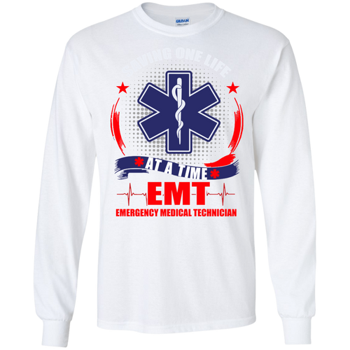 EMT G240 Gildan LS Ultra Cotton T-Shirt AH141
