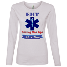 EMT 884L Anvil Ladies' Lightweight LS T-Shirt AH137
