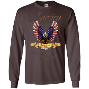 Patriotic G240 Gildan LS Ultra Cotton T-Shirt AP 005