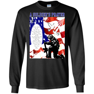US Military G240 Gildan LS Ultra Cotton T-Shirt AM001