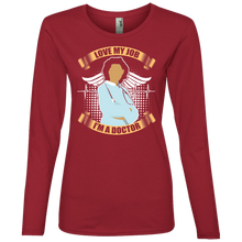 Doctor 884L Anvil Ladies' Lightweight LS T-Shirt AH133