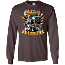 Marines G240 Gildan LS Ultra Cotton T-Shirt AM042