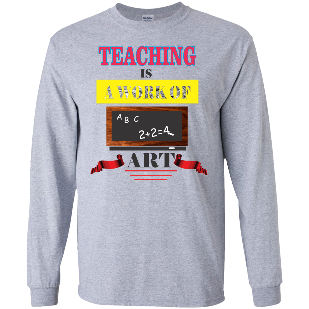 Teacher G240 Gildan LS Ultra Cotton T-Shirt AH116