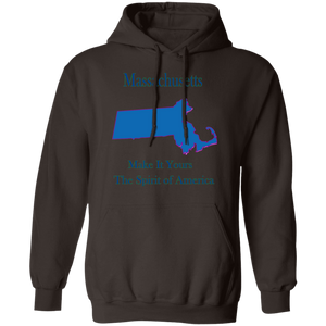 G185 Pullover Hoodie 8 oz. State 021