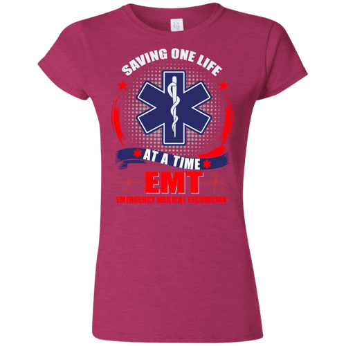 EMT G640L Gildan Softstyle Ladies' T-Shirt AH141