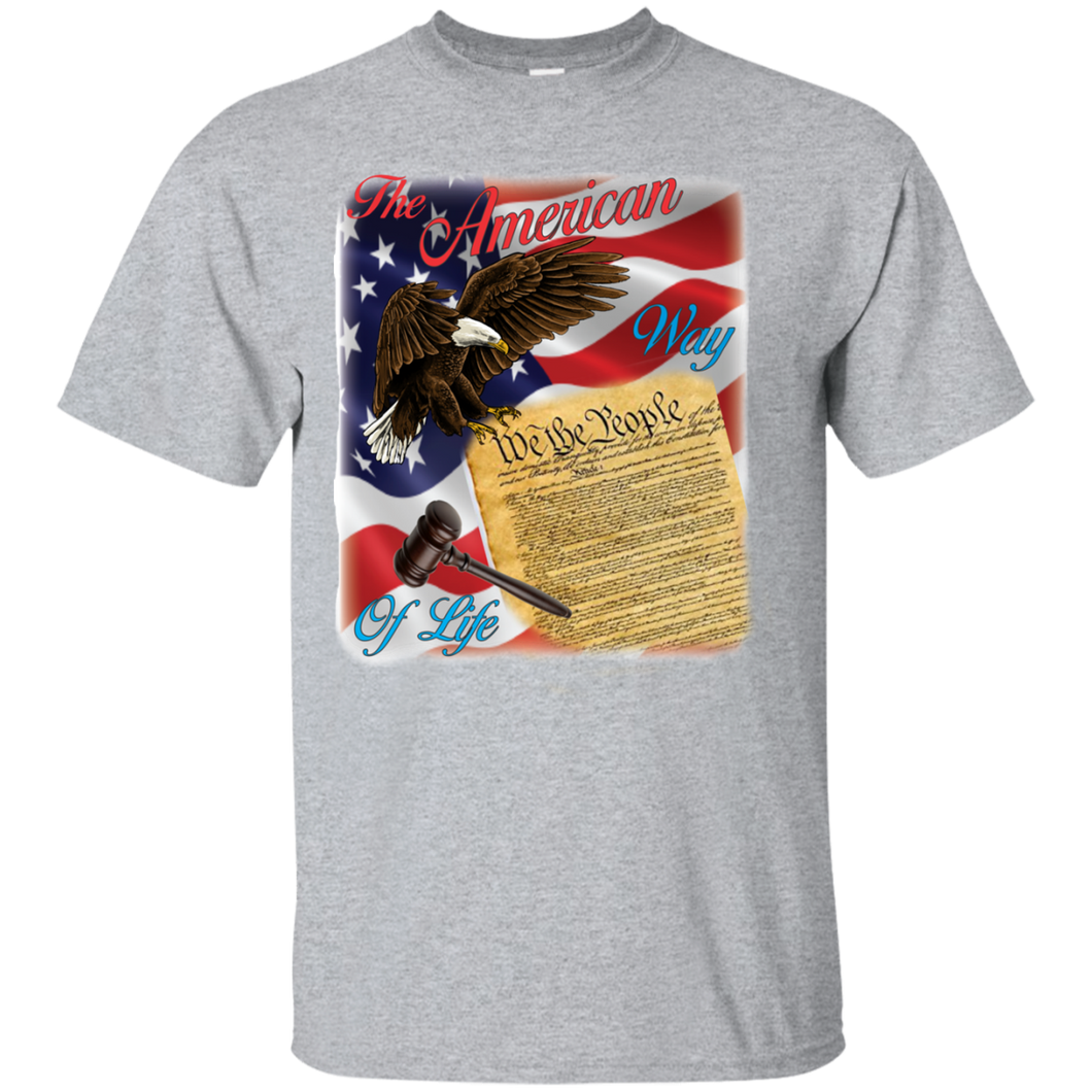 Patriotic G200 Gildan Ultra Cotton T-Shirt AP109