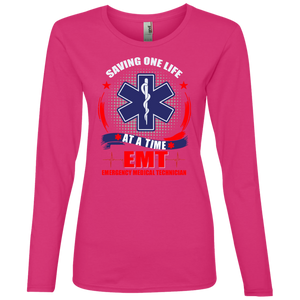 884L Anvil Ladies' Lightweight LS T-Shirt AH141