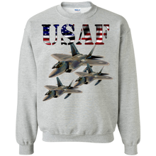 Air Force G180 Gildan Crewneck Pullover Sweatshirt  8 oz. AM069
