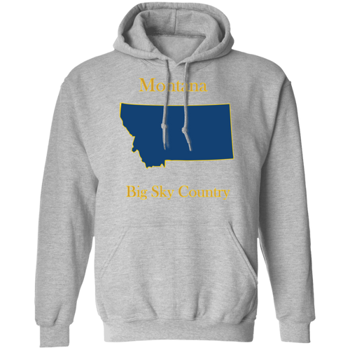 G185 Pullover Hoodie 8 oz. State 026