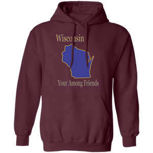 G185 Pullover Hoodie 8 oz. State 049