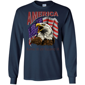 Patriotic G240 Gildan LS Ultra Cotton T-Shirt AP011