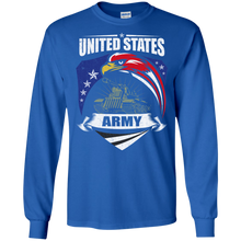 Army G240 Gildan LS Ultra Cotton T-Shirt AM058